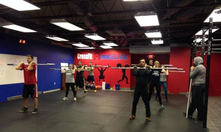 Four Weeks of Gym Membership at CrossFit Abbellire (65% Off)