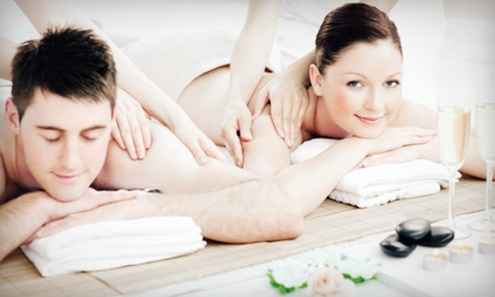 Bambu Organic Massage - University City North: Swedish, Bamboo, or Hot-Stone Massage for One or a Swedish Couples Massage at Bambù Organic Massage (Half Off)