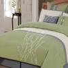 8-Piece Embroidered Vines Comforter Set