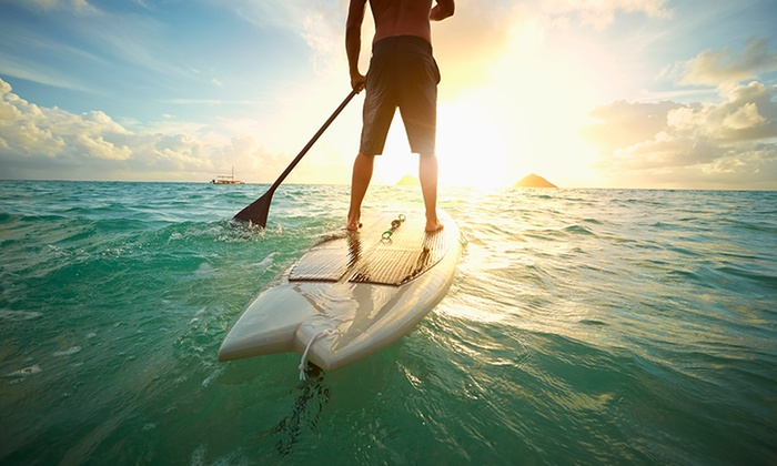 Riverwalk Recreation - Fort Lauderdale: Paddleboard or Kayak Rental for Two or Four from Riverwalk Recreation (Up to 51% Off)