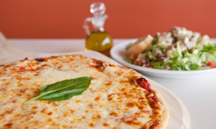 Pizza, Pasta, and More at Milano's Pizza (Up to 50% Off). Two Options Available.