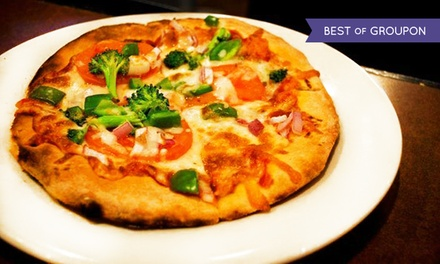 Comfort Food and Gourmet Pizza for Two, Four, Take-Out, or Delivery at Bob's Your Uncle (Up to 40% Off)
