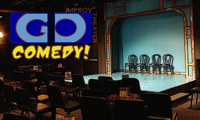 Go Comedy! Improv Theater - Downtown Ferndale: $15 for Two Tickets to Go! Comedy Improv Theater ($30 Value)