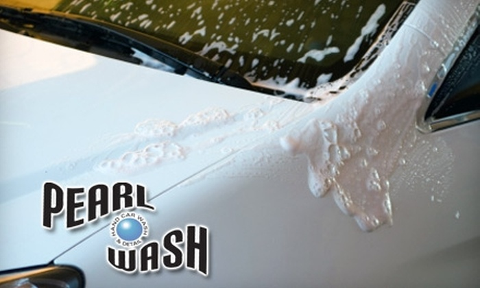 Pearl Car Wash - Village: $20 for a Hand Wash (Up to $51 Value) or $99 for an Interior Detail, Hand Wash, and Wax ($199.95 Value) at Pearl Car Wash in La Jolla