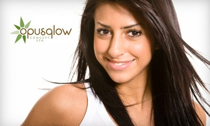 OpusGlow - Whitby: $35 for a Woman's Haircut Package ($73.45 Value) or $18 for a Men's Haircut Package ($39.55 Value) at OpusGlow