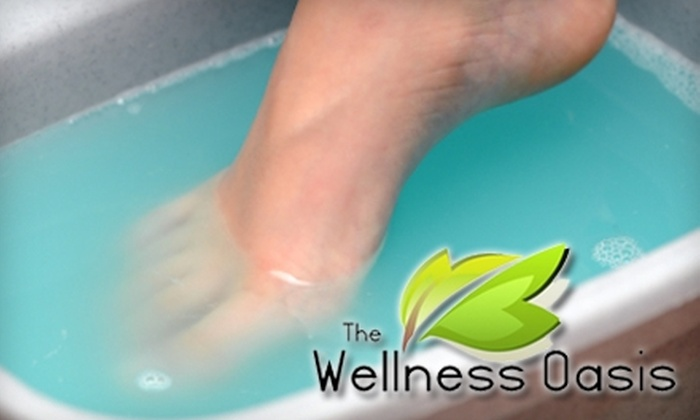 The Wellness Oasis - Broadmoor/Sherwood: $25 for Two Detox Foot Baths at The Wellness Oasis ($50 Value)