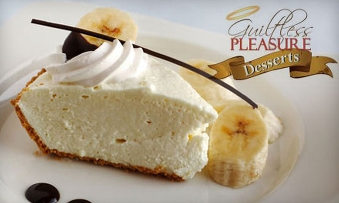 Guiltless Pleasure Desserts: $18 for Two Low-Calorie Pies from Guiltless Pleasure Desserts ($36 Value)