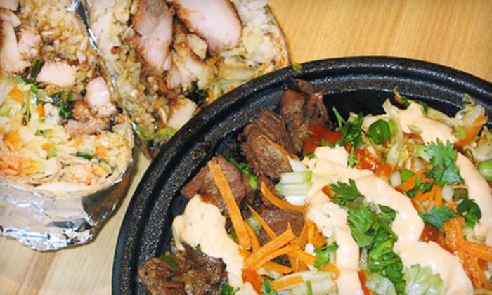 Mashiso Asian Grille - Butternut Ridge: $6 for $12 Worth of Asian Fare at Mashiso Asian Grille in North Olmstead
