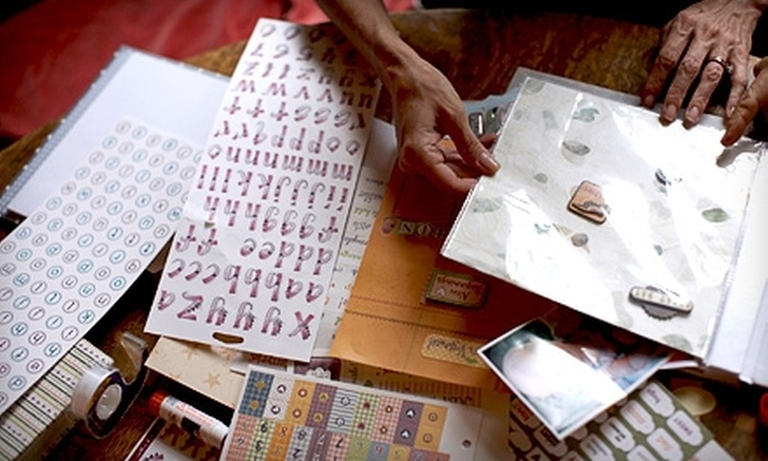 Scrap Yard Scrapbooking - Stonewall: $10 for $20 Worth of Scrapbooking Materials at Scrap Yard Scrapbooking