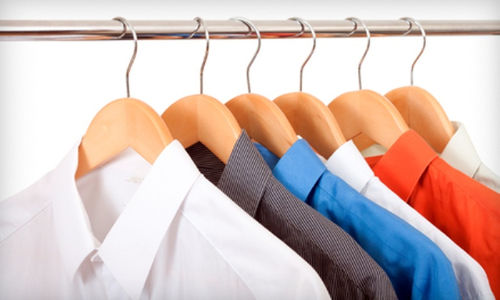 Cleanology Dry Cleaning - Multiple Locations: Dry Cleaning or Comforter Cleaning at Cleanology Dry Cleaning. Three Options Available.