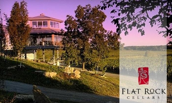 Flat Rock Cellars - Jordan: $25 for a Wine Tour and Tasting for Two at Flat Rock Cellars in Jordan ($50 Value)