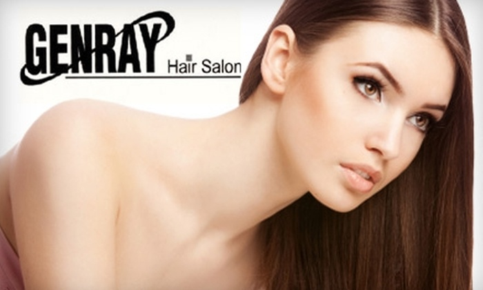 Genray Hair Salon - Multiple Locations: $25 for $50 Worth of Kérastase Products at Genray Hair Salon