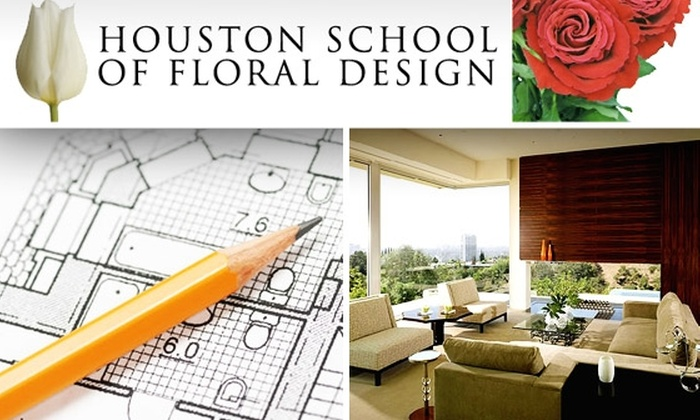 Houston School of Floral Design  - Houston: Intro Interior Design Class at Houston School of Floral Design