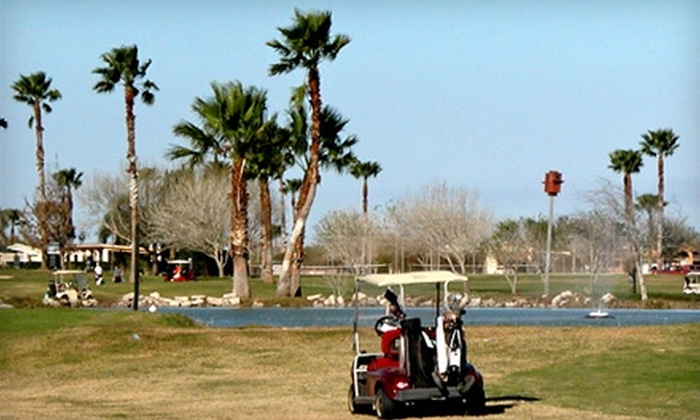 Cottonwood Creek Country Club & Golf Course - Harlingen: $15 for One Nine-Hole Round of Golf and Cart Rental for Two at Cottonwood Creek Country Club & Golf Course ($30 Value)