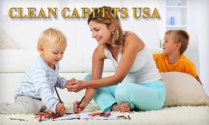 Clean Carpets USA - Bolton: $69 for Up to 600 Square Feet of Carpet Cleaning from Clean Carpets USA (Up to $174 Value)