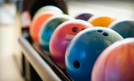 2 Games and Shoes for 2 (a $30 value) - The Bowling Barn in Big Bear Lake