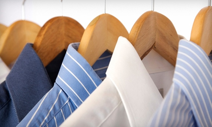 Pressed4Time  - Tysons Central 7: Dry Cleaning or Laundry Wash and Fold with Pick-Up and Delivery from Pressed4Time in Vienna (Up to 60% Off). Two Options Available.