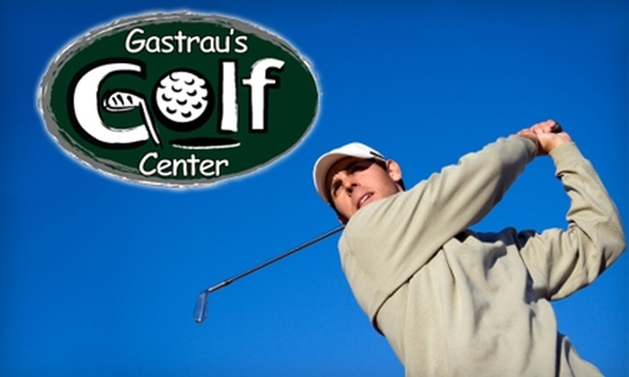 Gastrau's Golf Center - Oak Creek: $13 for Two Large Buckets at Heated Outdoor Driving Range (Up to $26 Value) or $20 for 30-Minute Golf Lesson ($40 Value) at Gastrau's Golf Center in Oak Creek