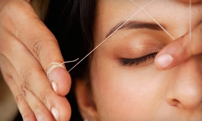 The Brow Bar - Multiple Locations: Eyebrow and Facial Threading Services at The Brow Bar. Choose from Three Options.