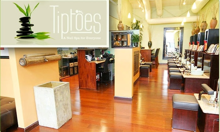 Tiptoes - Potrero: $13 for Two Manicures at Tiptoes ($30 value)