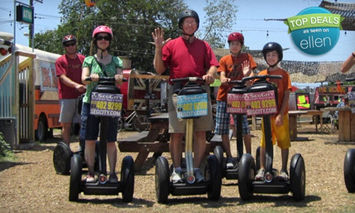 SegCity - Austin: $32 for a Two-Hour Segway Choose Cruise from SegCity ($65 Value)