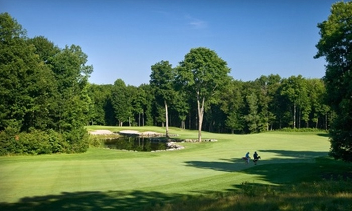 Trillium Wood Golf Club - Corbyville: $57 for Golf for Two and a $10 Voucher for Clubhouse Fare at Trillium Wood Golf Club in Corbyville