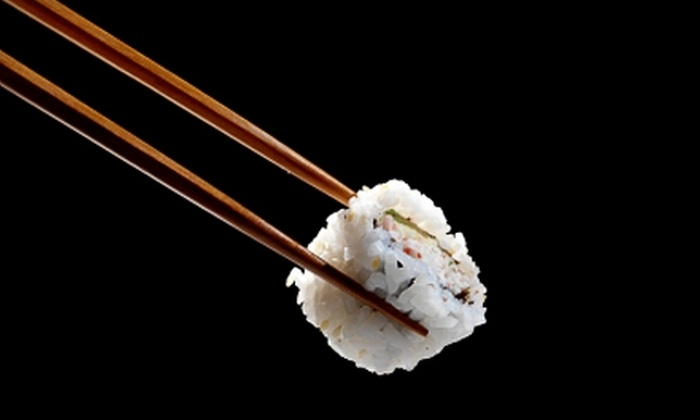 Samurai Japanese Steakhouse and Sushi Bar - Bradenton: $15 for $30 Worth of Japanese Fare and Drinks at Samurai Japanese Steakhouse and Sushi Bar in Bradenton