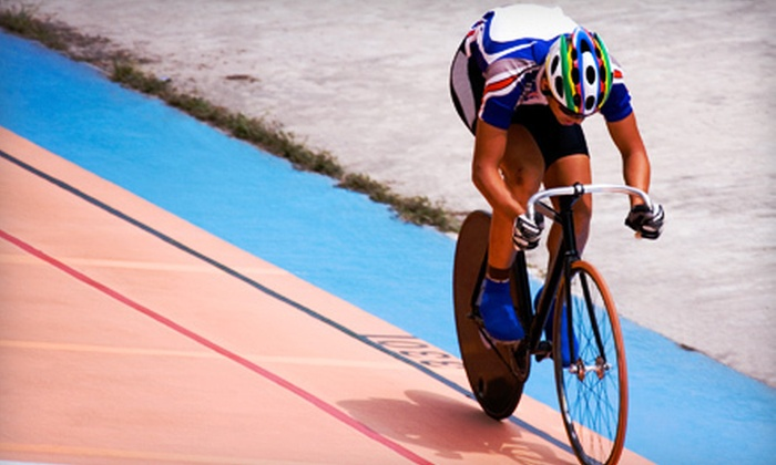 Greater Victoria Velodrome Association - Victoria: Track-Cycling Clinic for One or Two at Greater Victoria Velodrome Association in Colwood (Up to 57% Off)