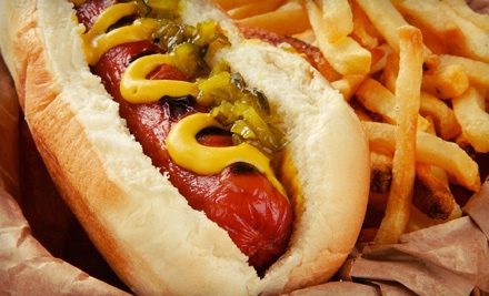 $10 Groupon - Pappy's Hot Diggity Dogs in Virginia Beach