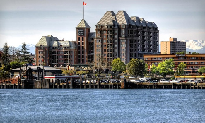 Hotel Grand Pacific - James Bay: One-Night Stay in the Victoria Suite October–March or July–September