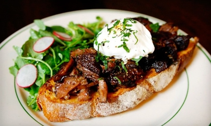 Le Comptoir - Williamsburg: $15 for $30 Worth of French Fare and Drinks at Le Comptoir in Brooklyn