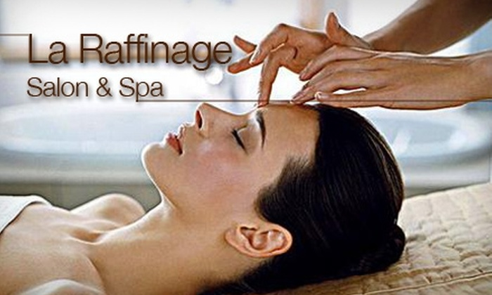 LaRaffinage Spa - Downtown Vancouver: $75 Facial and Reiki Energy Treatment from La Raffinage Salon & Spa ($180 Value)