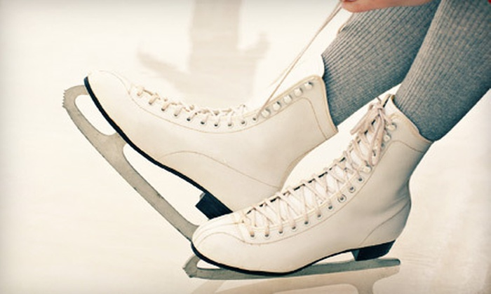Babson Skating Center - Wellesley: $49 for 10 Public Ice-Skating Outings with Skate Rental at Babson Skating Center (Up to $110 Value)