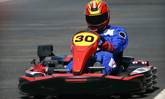 Speed Street Indoor Racetrack - Glendale: $44 for a Go-Kart Racing Package at Speed Street Indoor Racetrack in Glendale (Up to $95 Value)