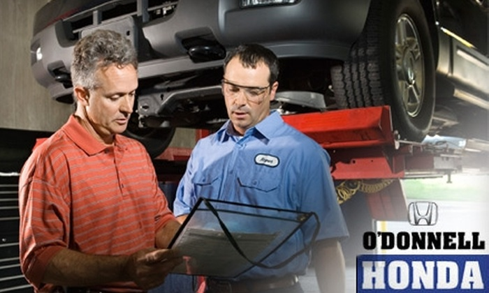 O'Donnell Honda - Ellicott City: $50 for $100 Worth of Auto Services at O'Donnell Honda in Ellicott City