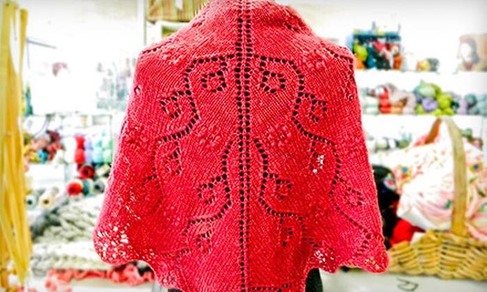Kirkwood Knittery - Saint Louis: $20 for Two Beginning Knitting Classes at Kirkwood Knittery ($45 Value)