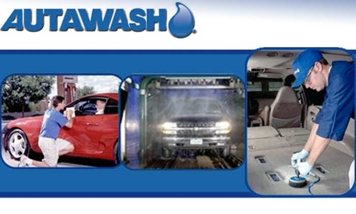 Autawash Car Wash and Detail - Multiple Locations: $49 for Five Full-Service Wheel Express Car Washes at Autawash Car Wash