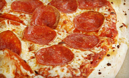 Pizza or Calzone Meal for 2 (Up to a $23.48 total value) - Brick Oven Pizza in Ashland