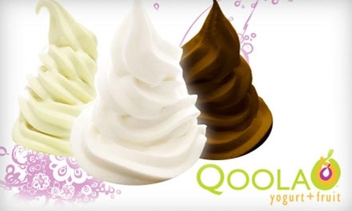 Qoola Frozen Yogurt + Fruit - Multiple Locations: $5 for $10 Worth of Treats at Qoola Frozen Yogurt + Fruit
