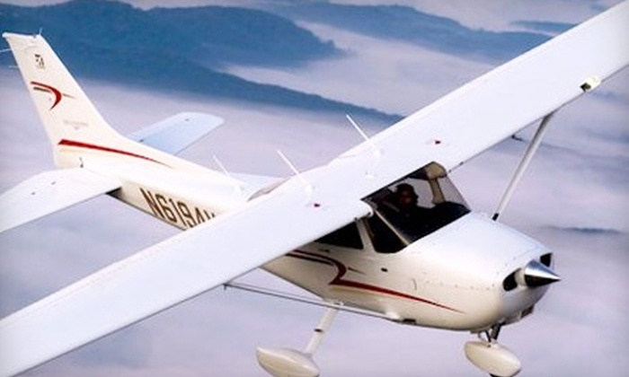 OpenAir Flight Training - 1: $61 for an Introductory Flight Lesson at OpenAir Flight Training in Gaithersburg ($152.50 Value)