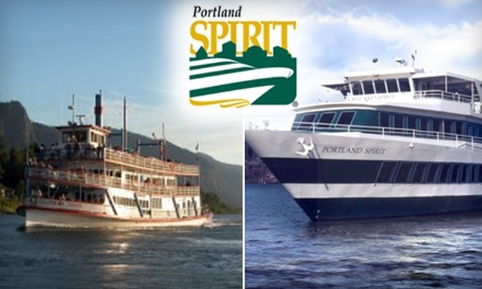 Portland Spirit River Cruise Dining - Multiple Locations: $19 for a Choice of Two Sightseeing Tours from Portland Spirit River Cruise Dining (Up to $38 Value)