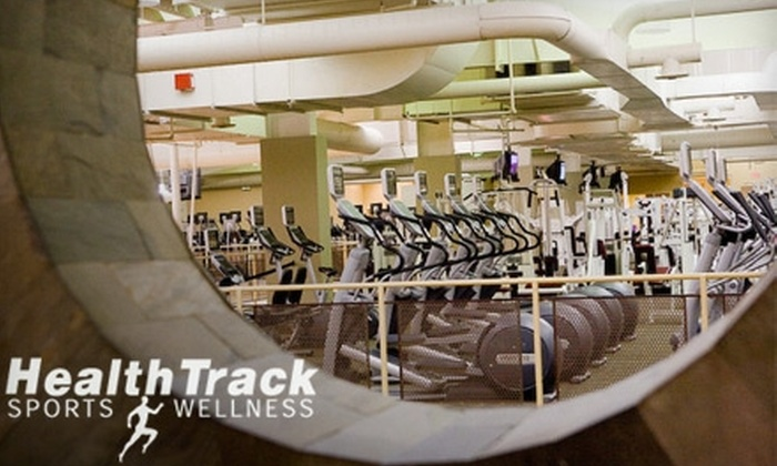 HealthTrack Sports Wellness - Glen Ellyn: $62 for a One-Hour Massage, a One-Hour Personal-Training Session, and a Two-Week Membership to HealthTrack Sports & Wellness in Glen Ellyn