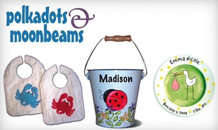 polkadots & moonbeams: $15 for $30 Worth of Unique Gifts from polkadots & moonbeams