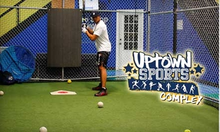 Uptown Sports Complex - Kingsbridge: $5 for 84 Pitches in the Batting Cages at Uptown Sports Complex in the Bronx ($10 Value)