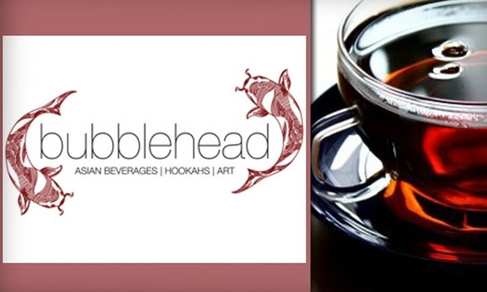 Bubblehead - Lavaca: $2 for a 16-oz. Iced or Smoothie Bubble Tea at Bubblehead (Up to $4.33 Value)