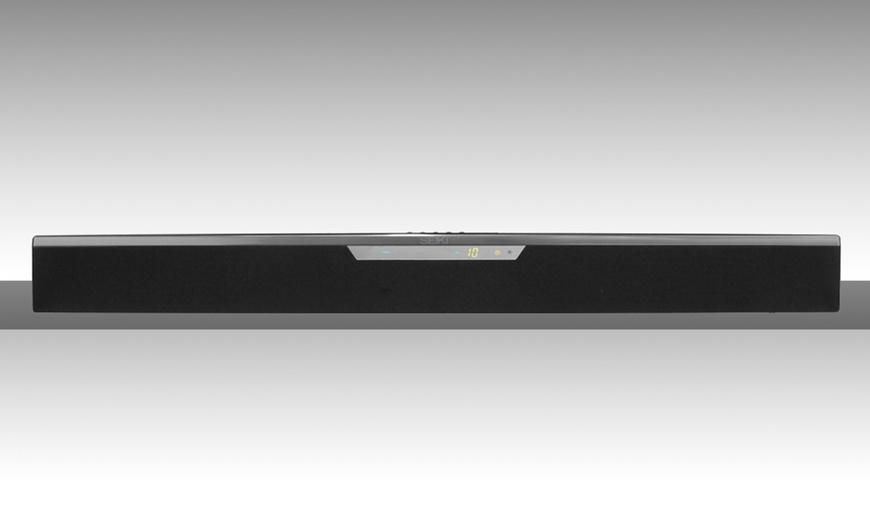 Seiki 2.0 HD Surround Sound Bar   Groupon Goods