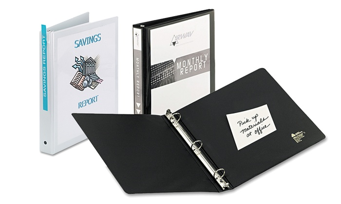 "Avery Economy View Binder with 1"" Round Rings: Avery Economy View Binder with 1"" Round Rings"