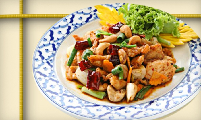 Taste of Thai - West Jordan: Thai Fare for Dinner or Lunch at Taste of Thai in West Jordan (Up to 53% Off)