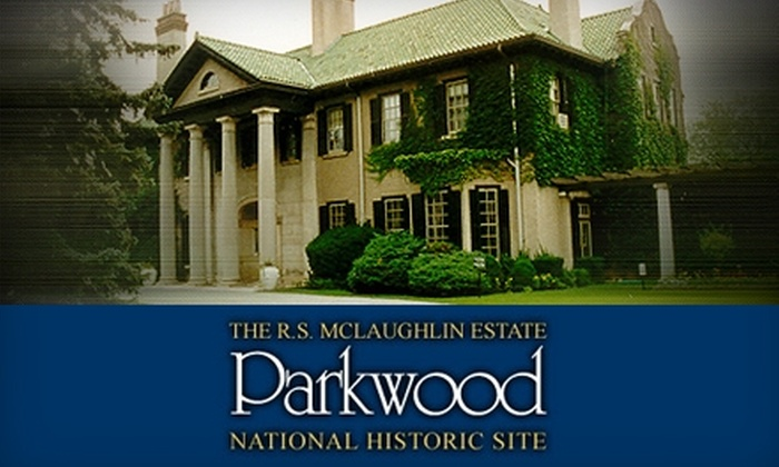 Parkwood Estate - Downtown Oshawa: Half Off Guided Tour of Parkwood Estate in Oshawa. Choose Between Two Options