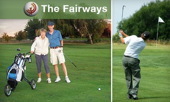 The Fairways - Medical Lake: $39 for Round of Golf for Two People Plus Cart at The Fairways (Up to a $78 Value)
